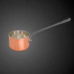 Copper pan for flambé