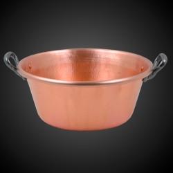 Hammered-Copper Jam Basin