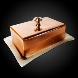 Copper Butter Dish -...