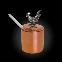 Copper Mustard pot